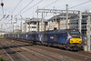 SCO_020 (Stuart's Transport) Tags: train edinburgh haymarket scotrail scotland uk 68006 daring fifecircle 2g02 drs diesel loco locohauled class68