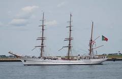 NRP Sagres (jelpics) Tags: nrpsagres sagresiii portugal portugesenavy tallship sailingvessel sailboat naval navy mast rigging barque boston boat harbor massachusetts ocean port ship sea vessel