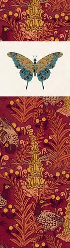 Marque-pages // 20x5.5cm // Papillon