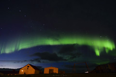 Night Radiance (_Amritash_) Tags: aurora auroraborealis night nightscape nightsky bigdipper stars radiance nightradiance iceland barn auroraoverbarn