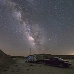 Camping Under the Milky Way In The Anza-Borrego Desert thumbnail