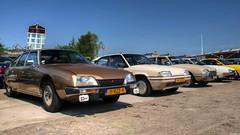 Citroën CX 2000 Pallas / BX 19 TRI / GS Pallas / CX 2000 (Skylark92) Tags: nederland netherlands holland noordholland amsterdam noord north ndsm werf yard youngtimer event 2018 car road tree sky people 1979 11rzz9 pallas 2000 cx citroën cremant blanc 1989 xr10rd tri 19 bx 30yb11 1975 gs 70jlhz 1978 citroen