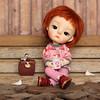 A little break to rest... (Passion for Blythe) Tags: ming secretdoll secretdollming bjd tiny cute doll birds rest