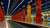Lisbon, Portugal: Olaias metro station (Red [Linha Vermelha] Line) (nabobswims) Tags: hdr highdynamicrange lightroom lisboa lisbon metro nabob nabobswims olaias pt photomatix portugal rapidtransit sel18105g sonya6000 station subway ubahn