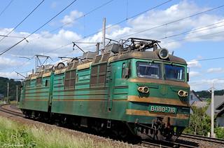 UZ VL80T-718, BP1479 - Pidzamche, 2018/05/21.