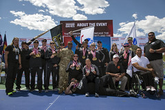 180604-D-DB155-009 (DoD News Photos) Tags: dodwg18 2018dodwarriorgames dodwarriorgames warriorgames woundedwarriors colorado coloradosprings dedication triumph overcomingadversity fortitude sports track field airrifle marksmanship wheelchairbasketball sittingvolleyball powerlifting cycling bicycling archery swimming rowing indoorrowing unitedstates