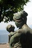 Mother and child on the Villa Comunale (zawtowers) Tags: sorrento campania italy italia bayofnaples seaside town resort sorrentine peninsula wednesday 30 may 2018 warm dry sunny blue skies sunshine hot holiday vacation break summer mother child statue villa comunale park looking out sea