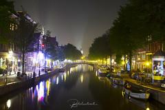 When Night Falls in Amsterdam (bobolivetoeat) Tags: longexposure nightlights canon5dmarkiv canonphotography canals amsterdam netherlands