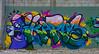 Brain Breeze (Steve Taylor (Photography)) Tags: brain mobile ikarus graffiti mural streetart colourful crazy mad odd strange weird newzealand nz southisland canterbury christchurch cbd city tag eyes monster cartoon