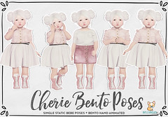 { Bellybean } Cherie Bento Poses AD (Bella Parker) Tags: ninetynine event slevent tdevent pose poses bento bentopose slbento toddleedoo toddler toddleedooblogger