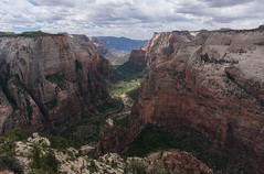 Zion from Observation Point (VoLGio) Tags: zion zionnationalpark national park nationalparque nacionalparque nacional de zionutahusausestados unidosunited states america observationpoint observation point landscape paisaje viewpoint observationpointtrail trail sony nex6 1650 sony1650 sonynex6