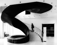 London   |   Peel (JB_1984) Tags: spiral stairs staircase steps wellcomecollection museum blackandwhite bw mono urban euston bloomsbury london londonboroughofcamden england uk unitedkingdom nikon d500 nikond500