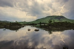 There be Dragons (grahamd4) Tags: scotland clouds reflections slta33 lochan rannoch moor
