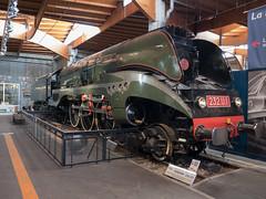 Steam locomotive 'Hudson' 232 U1 - 1949 (Ronald_H) Tags: citédutrain train railway museum mulhouse 2018 panasonic gx800 steam locomotive hudson 232 u1 1949