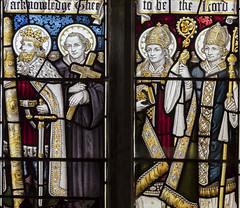 Photo of Brandesburton, St Mary's church window detail