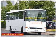 LIDDELL'S OF AUCHINLECK SJ06PKG (SCOTTISH BUS ARCHIVES) Tags: dv87av mod ghacoaches liddellsofauchenleck vehixelscholabus iveco