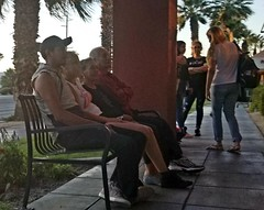 June 17, 2018 (5) (gaymay) Tags: california desert gay love palmsprings riversidecounty coachellavalley sonorandesert applebees restaurant cathedralcity