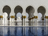 Sheikh Zayed Mosque 2 (RobertLx) Tags: asia middleeast arab emirates uae abudhabi mosque religion temple muslim islam architecture water reflection column arch white building city symmetry sheikhzayedmosque