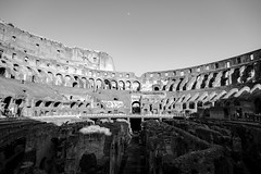 Colosseum (Alec Herrera) Tags: italia rome bridge moon sky bnw black white travel italy old architecture banister beacon bench boardwalk building cloud dawn dock fjord handrail lake lakedistrict landscape lighthouse loch mountain nature noperson outdoor overlooking park pier reflection reservoir river sea sitting sunset table top tower water wood wooden