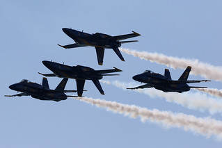 Blue Angels, Huntington Beach, California.