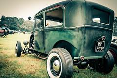 Evil Austin Hot Rod-2 (yarns101) Tags: classic 50s show motor engine wheels speed cadillac chrome car bike