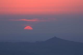 Brentor Sunset