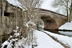 2018 03 18 056 KA Canal, snow (Mark Baker.) Tags: 2018 avon baker benham berkshire eu europe kennet kennetandavon lock march mark newbury bridge britain british canal cold day england english european gb great kingdom outdoor photo photograph picsmark pillbox rural snow spring uk union united
