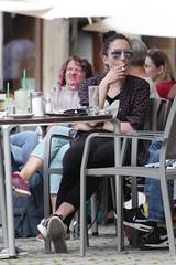 What a Drag (if you insist) Tags: inhale drag smoking smoker candid cigarette eurosmoke nicotine addict female gwg