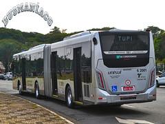 6 2001 TUPI - Transportes Urbanos Piratininga (busManíaCo) Tags: tupi transportes urbanos piratininga millennium iv articulado caio o500ua bluetec 5 mercedesbenz