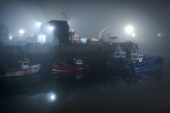 waiting for the day....Whitstable fishing fleet (stocks photography.) Tags: michaelmarsh whitstable photographer harbour coast seaside fish fishing boat boast atmospheric cinematic photography waitingfortheday