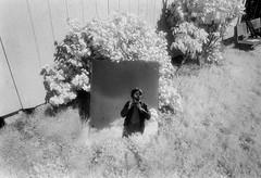 Primitive Selfie (sidelinesjr) Tags: nikonfm 24mmlens kodakhsifilm analog infrared