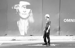 Omni present (TablinumCarlson) Tags: frankfurt main hessen germany deutschland leica dlux architektur westend tower hesse weichzeichner soft focus highkey 6 brd man woman facade fassade street omni strasenfotografie streetphotography candidphotography