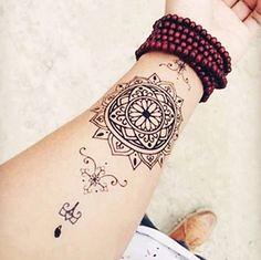 Henna Mandala Tattoo (TattooForAWeek) Tags: henna mandala tattoo tattooforaweek temporary tattoos wicker furniture paradise outdoor