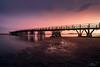 Puente de Isla Cristina (jesbert) Tags: isla cristina huelva andalucia españa spain coast sunset costa atardecer soft colors colores suaves agua water arena sand nubes clouds puente bridge sony a7rii carl zeiss