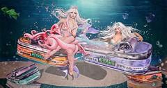 Always Fresh.... Never Canned (Duchess Flux) Tags: arcade uber moonamore tableauvivant laq jian mermaid secondlife sl fantasy