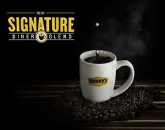 024693763422-101-Denny's New Signature Diner Blend-1 (Jim There's things half in shadow and in light) Tags: america canon5dmarkiv dennys drink foodanddrink logo places tamronsp90mmf28dimacro11vcusd usa advertising coffee coffeebean cream cup drop food mug splash text