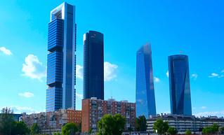 Cuatro Torres del barrio de La Paz, Madrid