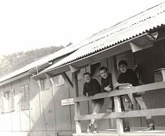 Bauunternehmung Diegtertal BUD, N2 Baulos Sissach-Eptingen, Niederdiegten, Buero - 1969. (Diepflingerbahn) Tags: bauunternehmungdiegtertal baulossissacheptingen baubuero baustelle niederdiegten n2 baselbiet baselland bl diegten puschlaver urner lancastrian