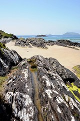 Sand in time (S Collins 2011) Tags: sky landscape ocean sea grass rock water coast bay beach sand cokerry ireland ngc