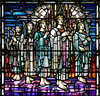 An Everlasting Home (Lawrence OP) Tags: heaven angels stainedglass toronto