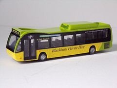 Blackburn  Private Hire Versa (Accyblue) Tags: blackburn private hire optare versa hybrid psg resin kit conversion
