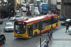 MC 76 @ Station Street, Birmingham (ianjpoole) Tags: midland classic scania l94ub wright solar yn05gxl 76 working west midlands railway rail replacement bus service from lichfield trent valley birmingham new street