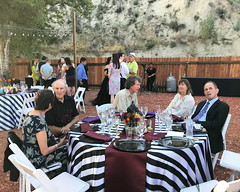 035 The Gang At Table 14 (saschmitz_earthlink_net) Tags: 2018 california angelesnationalforest losangelescounty sylmar reptacularranch kevinjessicawedding