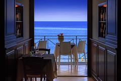 Sicily, May 2018 (chris_brearley) Tags: italy sicily cefalu restaurant ocean sea waterfront waterfrontrestaurant ristoranteilsaraceno 2018 lunch dinner