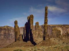 Yei Bi Chei & Totem Pole (Steve Walser) Tags: rock rocks rockformation monumentvalley
