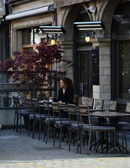 Meanwhile in Antwerp. (mariuszpawel) Tags: street people europe city architecture architectural belgium antwerpen streephoto streephotography travel