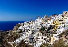 Magic Santorini (majka44) Tags: greece santorini blue light sky sea day travel city landscape building architecture white