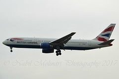 """City of Bilbao"" British Airways G-BNWX Boeing 767-336ER cn/25832-529 @ EDDF / FRA 02-04-2017 (Nabil Molinari Photography) Tags: cityofbilbao british airways gbnwx boeing 767336er cn25832529 eddf fra 02042017"