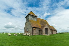 Fairfield - Saint Thomas Becket (Giloustrat) Tags: fairfield church pentax k3 kent uk england marsh nuages flickrdiamond diamondclassphotographer saariysqualitypictures