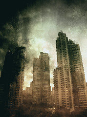 Future (vittorio.chiampan) Tags: skyscrapers cityscape city future fineart art